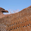 Eagle sculpture, Inn and Spa at Loretto, Santa Fe