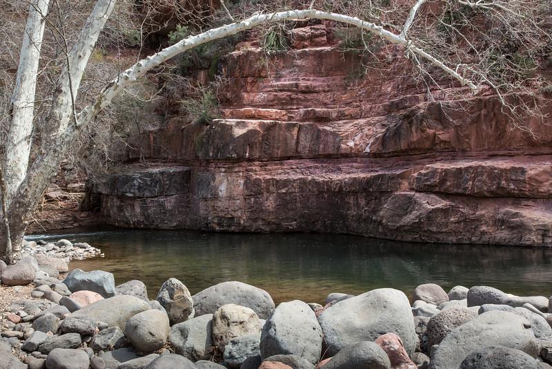 Oak Creek Canyon near Grasshopper Point