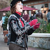 Christmas carolers at Antler Village
