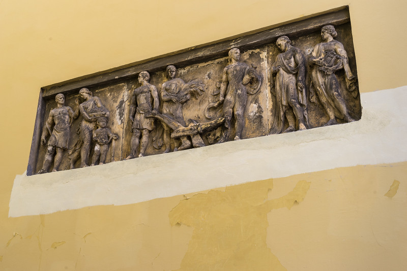 Historic frieze