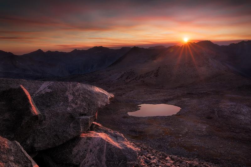 Agassiz sunset