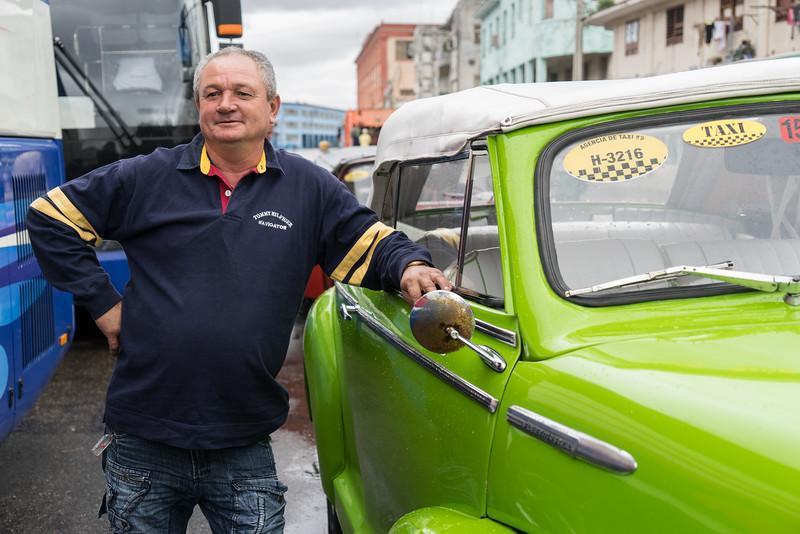 "Taxi driver, ""48 Chevy Convertable"