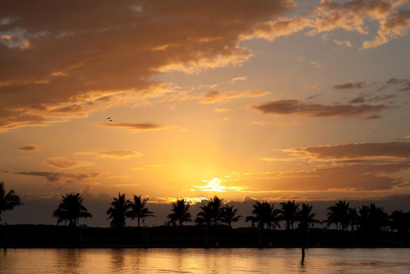 Sunset, Everglade City