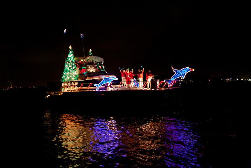 Boat parade, Palm Beach
