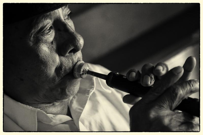 Musician, San Juan de Laguna