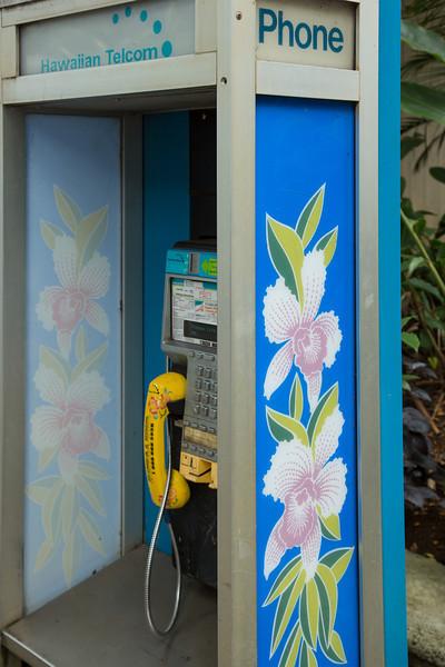 Phone booth, Koloa