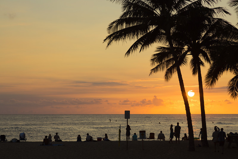 Watching for the green flash