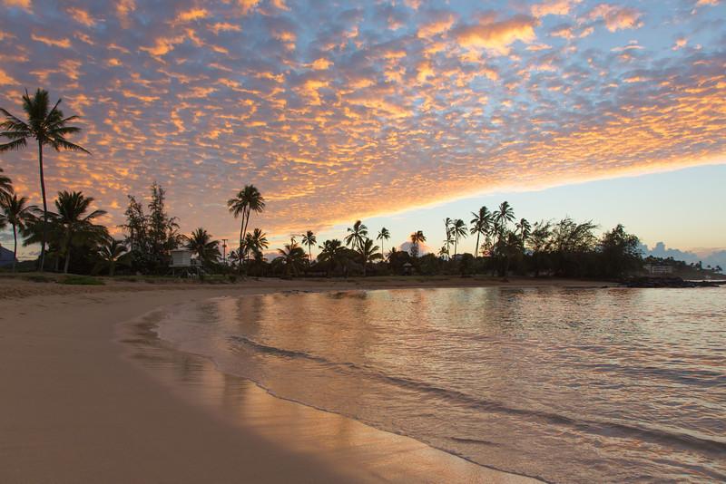 Sunrise at Po'ipu Beach
