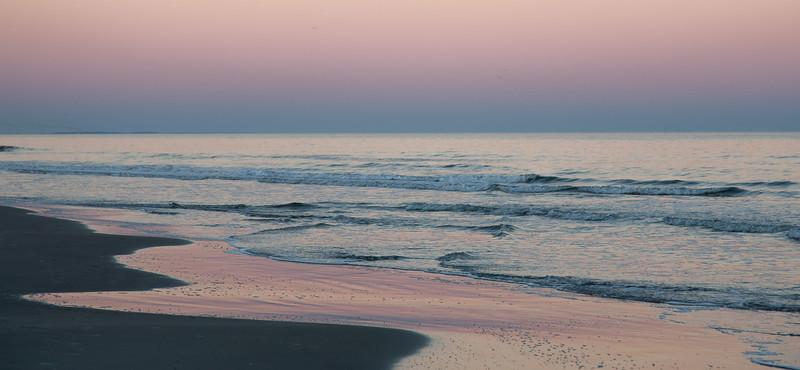 Twilight over the Atlantic