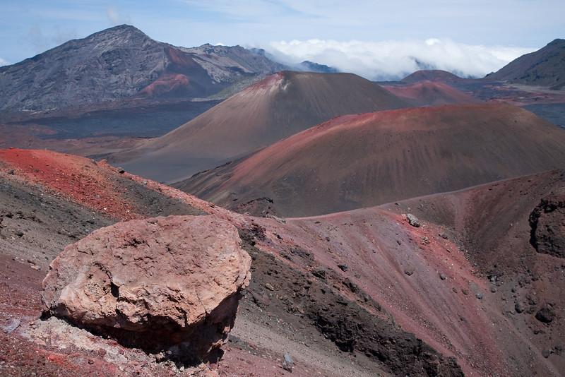 Cinder cones. Haleakala National Park