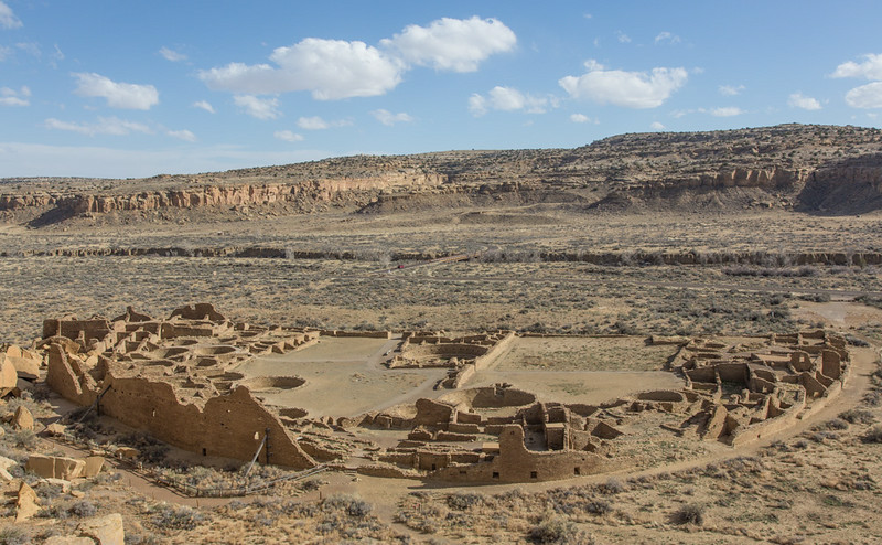 Pueblo Bonito, Chaco Canyon National Historical Park, NM