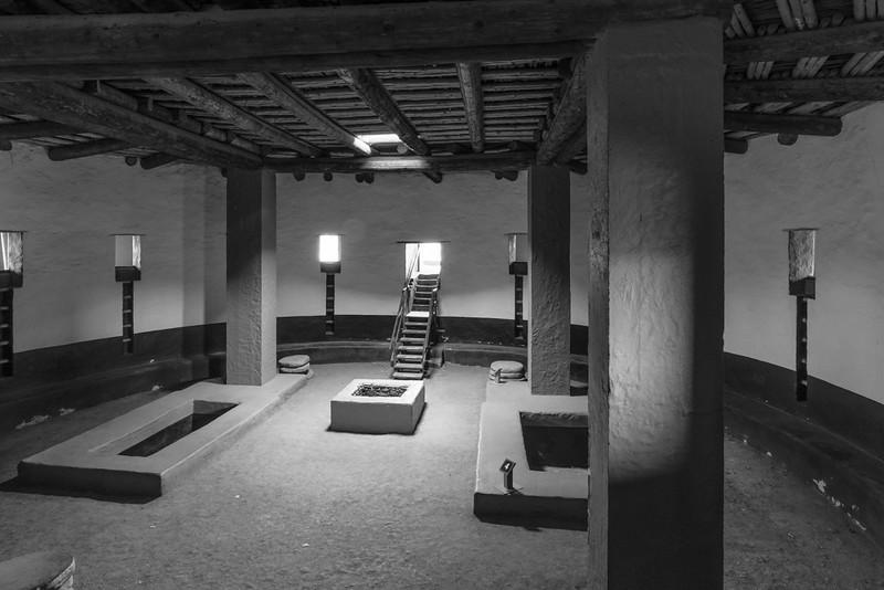 Kiva, Aztec Ruins National Monument, NM