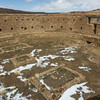 Great Kiva, Casa Rinconada,  Chaco Canyon National Historical Park, NM