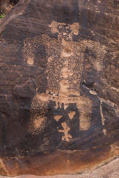 Petroglyphs, Rock Art Ranch, Winslow, AZ