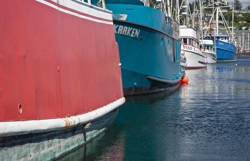 Fishing Boats, Newport