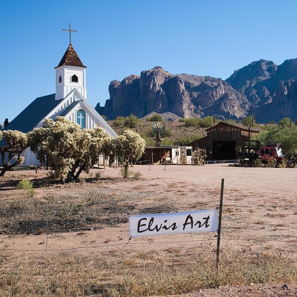 Elvis Art, Apache Trail