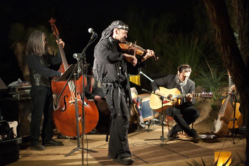 Traveler, Las Noches de las Luminarias, Desert Botanical Museum