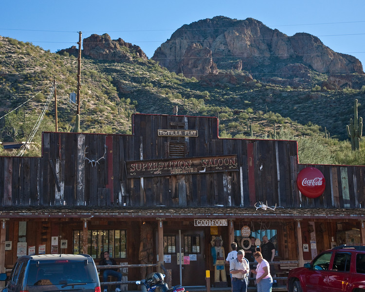 Superstition Saloon, Tortilla Flat, Apache Trail
