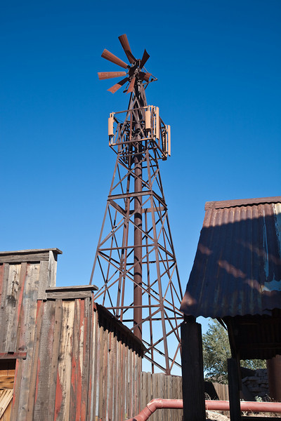 Goldfield, an old mining town along the Apache Trail