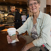 Margaret at Starbucks