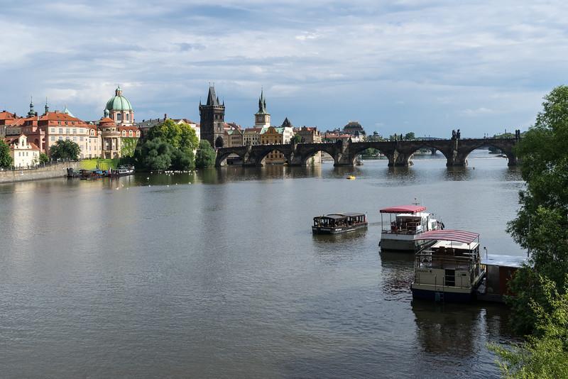 Charles Bridge, Vltava River