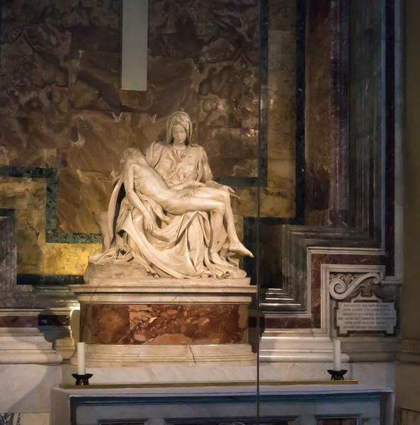 The Pieta by Michelangelo