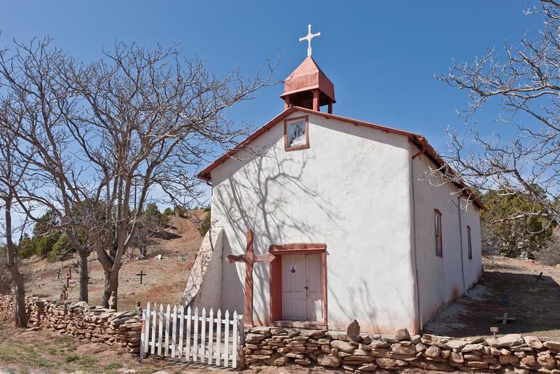 Church, near Glorieta