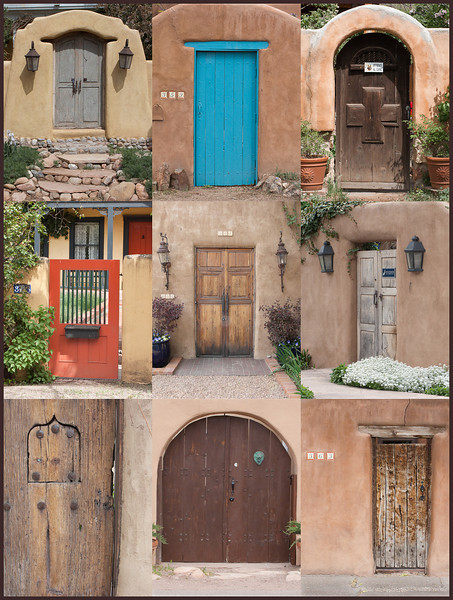 Doors of Garcia Street