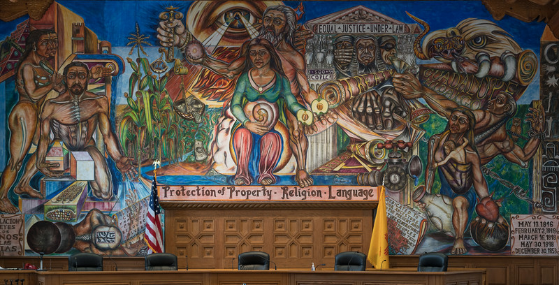 Mural, County Clerk Bldg.