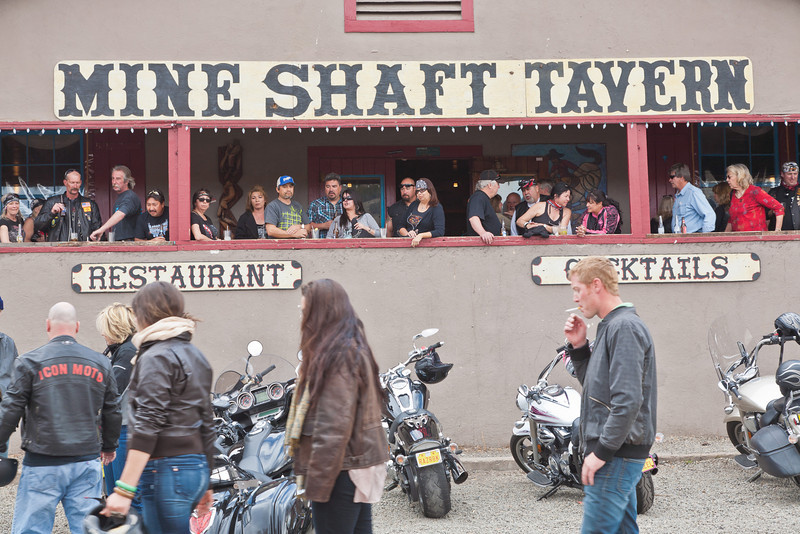 Mine Shaft Tavern on Sunday afternoon, Madrid