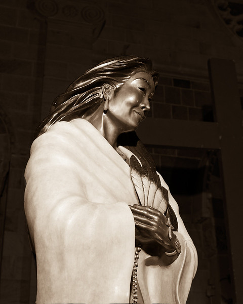 First Native American Saint