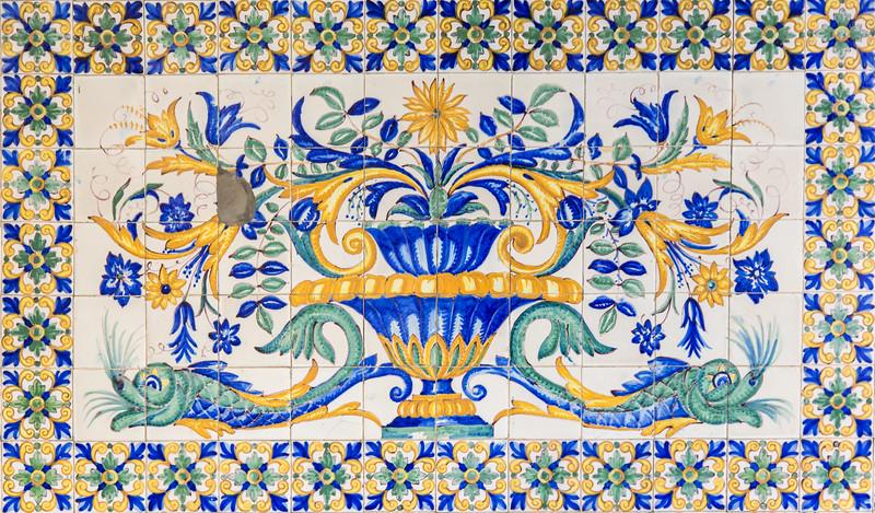 Tile mural, Barri Gotic