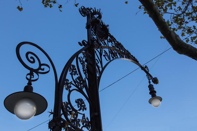 Street light, Passeig de Gracia