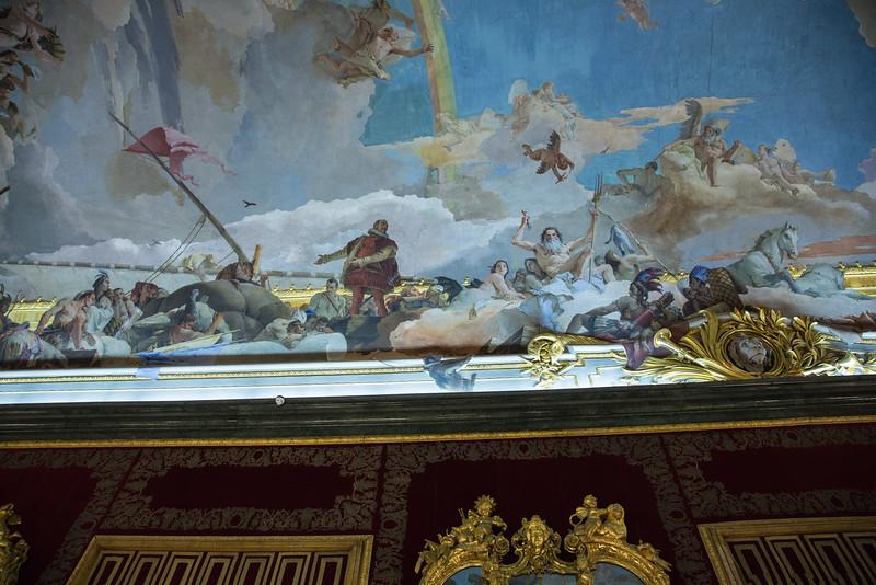 Fresco, Royal Palace, Madrid