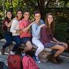 Students posing at the Alhambra, Grenada