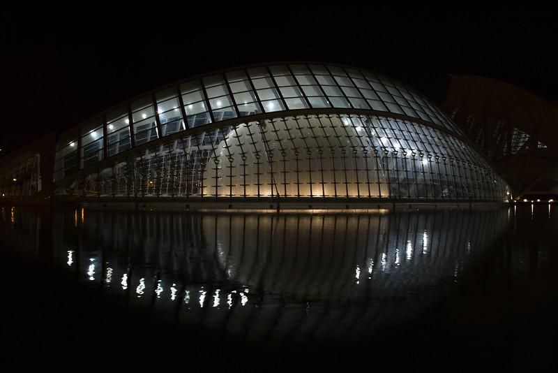Hemisferic, Ciudad de las Artes y las Ciencias, Valencia