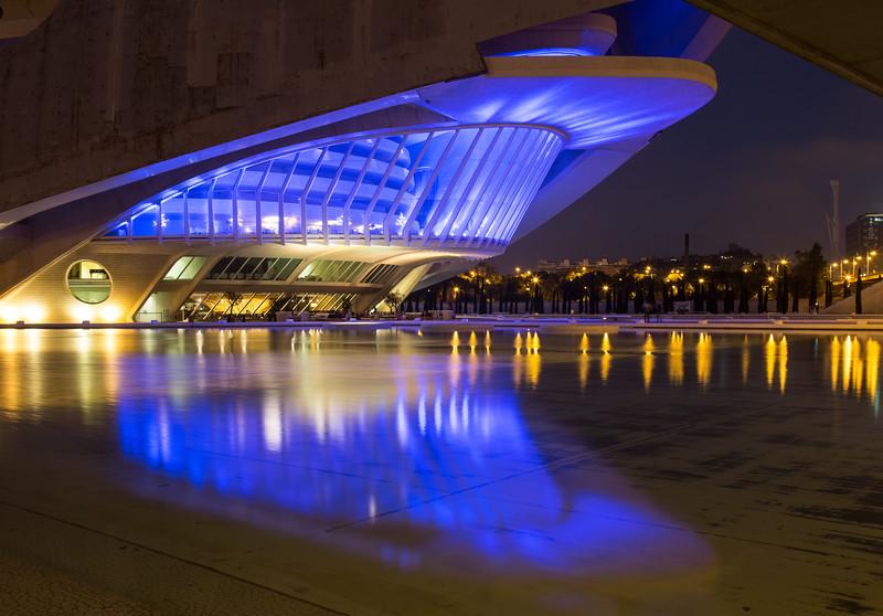 Palau de les Arts Reina Sofia, Ciudad de las Artes y las Ciencias, Valencia