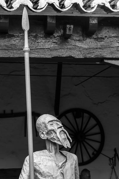 Don Quixote statue