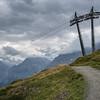On the trail from Mannlichen to Kleine Scheideg