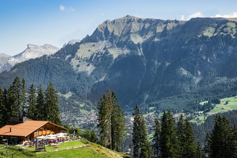 Lauterbrunnen from Winteregg