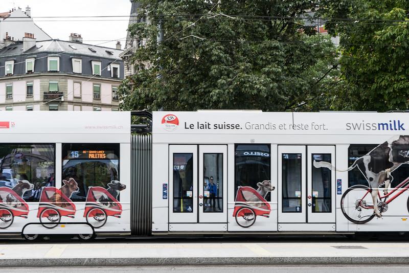 Bus, Geneva
