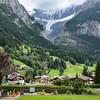 Unterer Grindelwald glacier above Grindelwald