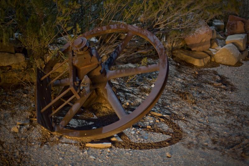 Wheel, Terlingua Ghost Town