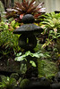 Garden sculpture, Akiko's Buddhist B&B, Wailua