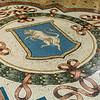 Mosaic pattern in floor of the Galleria Vittorio Emanuele
