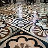 Marble floor of the Duomo