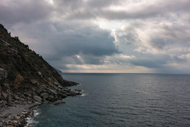 Liguran coast