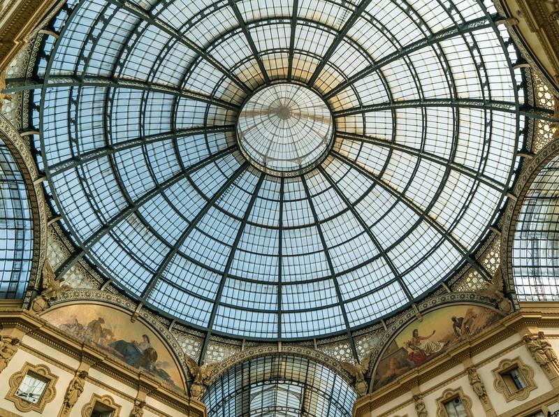 Dome of the Galleria Vittorio Emanuele