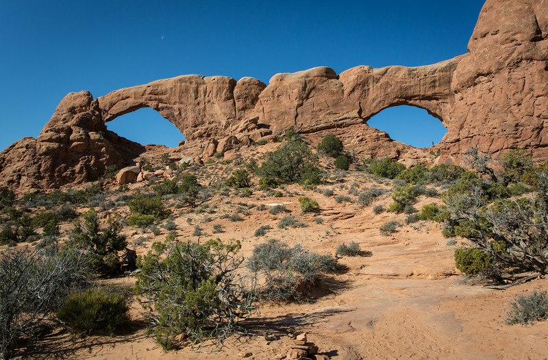 South and North Window Arch