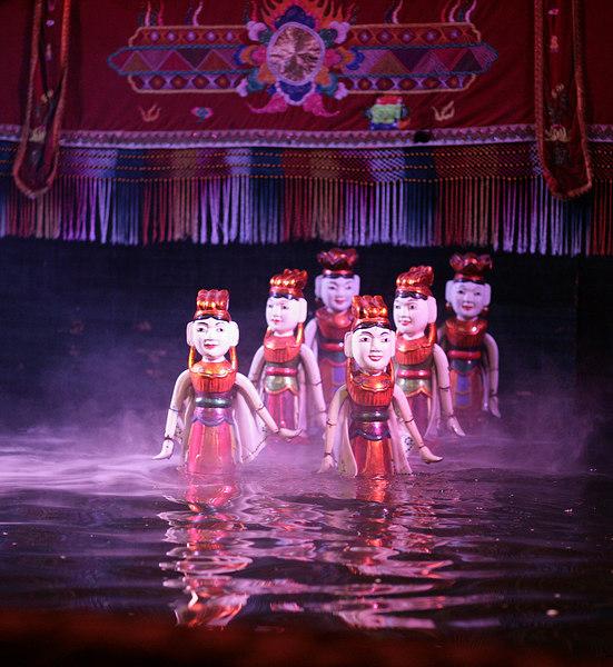 Water puppet show, Hanoi